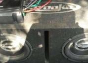 Oportunidad! amplificador kenwood y bajos bazooka