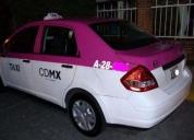Excelente taxi nissan tiida -2012