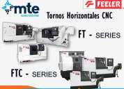 Tornos cnc marca feeler, ft y ftc series