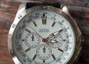 Reloj guess dorado de acero inoxidable (u14503g1)