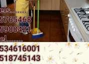 Limpieza sirvientas 5534616001naucalpan