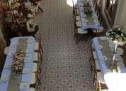 Hermoso salón de fiestas colonial