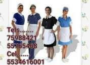 Servicios  domesticos  naucalpan 5518745143