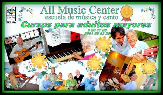 Escuela de musica y canto - All Music Center