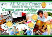 Escuela de musica y canto - all music center
