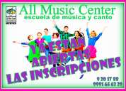 All music center - escuela de música y canto