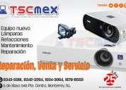 Reparación y mantenimiento a proyectores sony