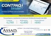 Sistemas contables - contapaqi binder