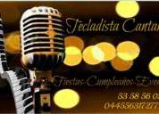 Tecladista cantante fiestas,bodas,eventos