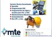 Servicio & mantenimiento, retrofits a maquinaría cnc.