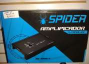Amplificador spider 4 canales 100 wtz x 4 ch (4 ohms)