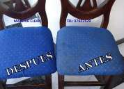 Lavado de sillas y salas