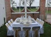 Mobiliario para tus eventos, mesa imperial  sillas y más…