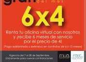 Oficinas virtuales en promoción, conoce los beneficios!!