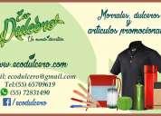 Eco dulcero articulos promocionales y textiles