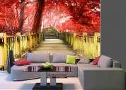 Fotomurales de paisajes moderna decoraciÓn