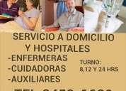 Servicios de cuidadores cuidadoras y enfermeras