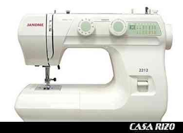 Máquina de coser Janome 2212 ::: Nuevas
