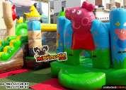 Renta de brincolines y juegos inflables