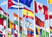 Clases de español e idiomas indoeuropeos, etc.