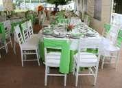 Sillas tiffany para fiestas o eventos sociales (renta)