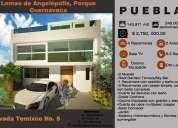 Casa en venta lomas de angelopolis parque cuernavaca