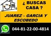 Casas residenciales en santa catarina desde 690 mil