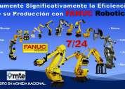 venta de robots fanuc.  automatice con fanuc robotics