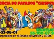 payasos para tu fiesta en texcoco