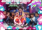 Payasos para tu fiesta en chimalhuacan