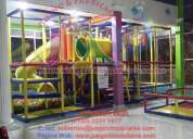Artículos de estimulación temprana, juegos infantiles, juegos modulares para interior y exterior