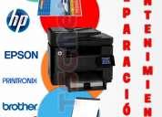 Reparación de equipos de impresión: impresoras y plotters