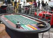 Joker casino renta de mobiliario para eventos.