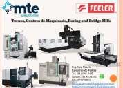 Feeler, centros de maquinado, tornos cnc, boring y bridge mills, encuentre el cnc que necesita.