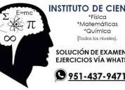 Clases matematicas, fisica y quimica