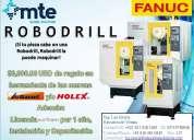 Robodrill mexico, ¡el centro de maquinado vertical pequeño y popular de fanuc!