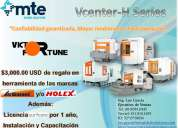 Centros de maquinado horizontal serie-h de victor fortune.