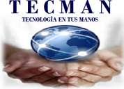 Tecman, reparación y mantenimiento de computadoras, tablets, impresoras tlahuac