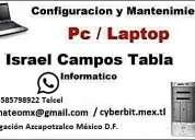 Servicio tecnico de pcs y laptops azcapotzalco