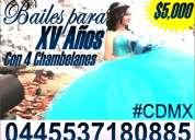4 chambelanes y bailes para xv aÑos 2017