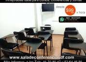 Alquiler de salas para talleres desde $99 pesos