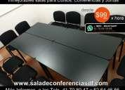 Alquiler sala de reuniones desde $99 pesos