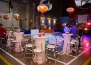 Renta de salas lounge y mobiliario para eventos empresariales - sociales