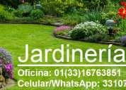 Jardineros en guadalajara