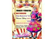 payasos y personajes para fiestas infantiles - df/edomex