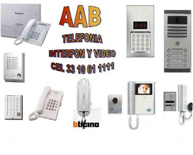 reparacion interfon Guadalajara videoportero conmutadores telefonicos CCTV