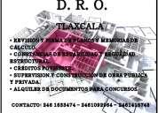 D.r.o. director responsable de obra tlaxcala