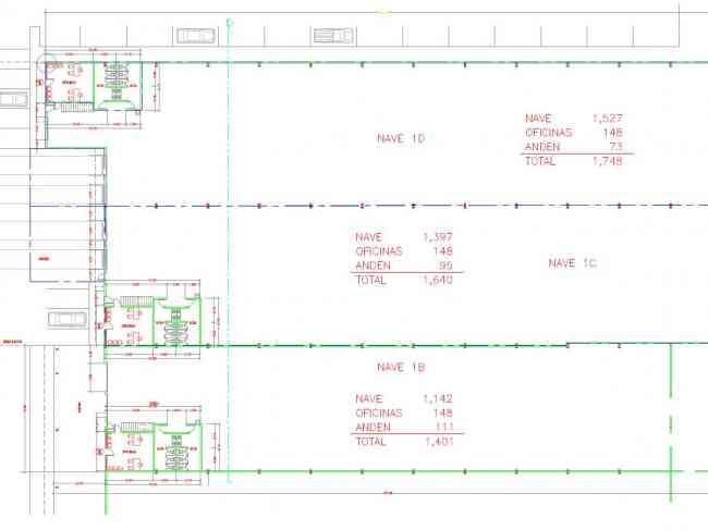 NAVE INDUSTRIAL EN RENTA SUP. 3,388 M² ó 36,468.13 Ft², LA MESA