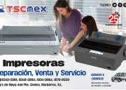 Reparación de impresoras de matriz y de tickets marca epson
