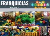 Franquicia para niños colors little park